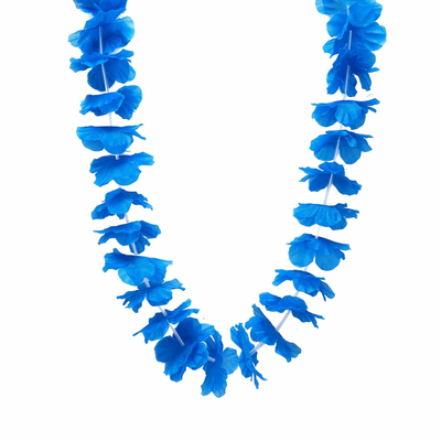 Collier hawaien bleu