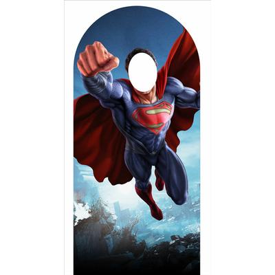 """Figurine géante photobooth  en carton """"© superman"""""""