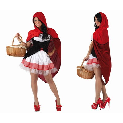 Déguisement chaperon rouge sexy