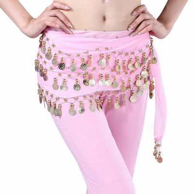 Ceinture ou foulard de danse Oriental Rose