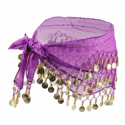 Ceinture ou foulard de danse oriental violine
