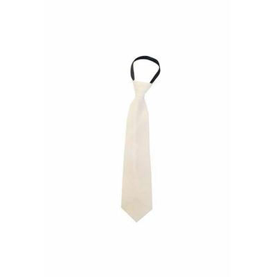 Cravate En Satin Ivoire
