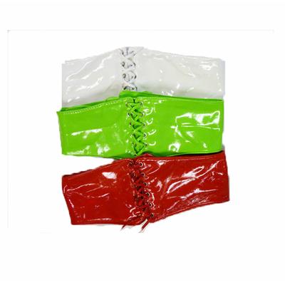 ceinture corset vinyle