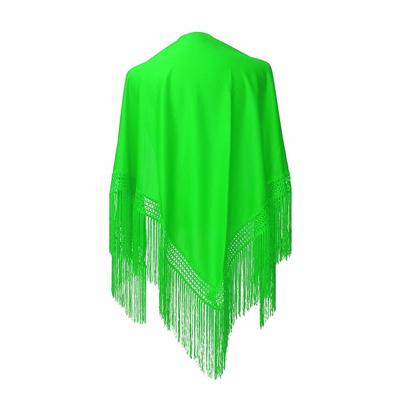 Châle espagnol vert anis