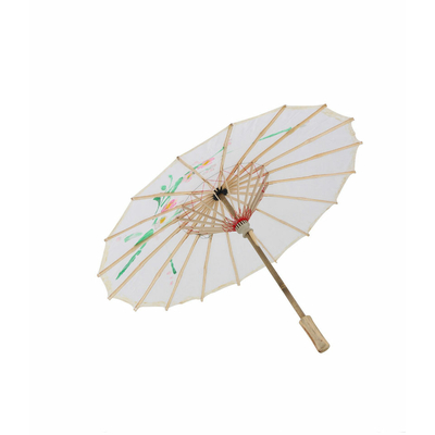 Ombrelle chinoise blanche 45 cm