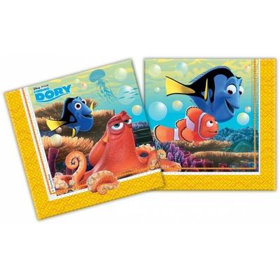 20 serviettes Dory