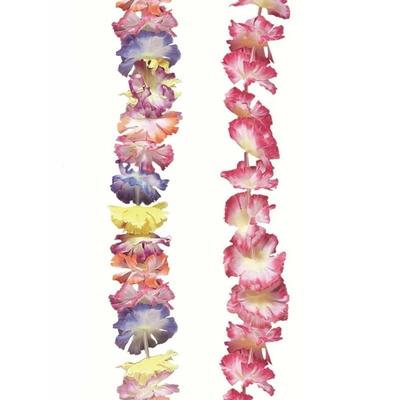 Guirlandes de Fleurs multicolores 4 m