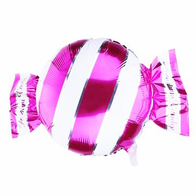 Ballon mylar aluminium bonbon fuchsia