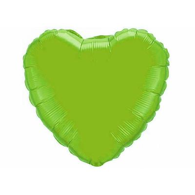 Ballon mylar coeur vert anis