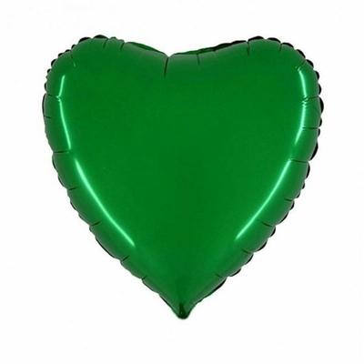 Ballon mylar coeur vert