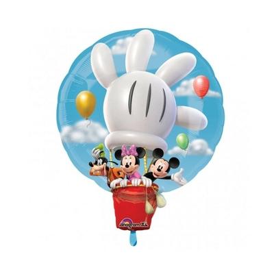 Ballon géant Mickey en montgolfière