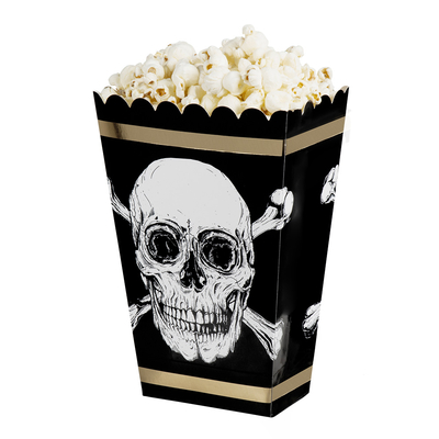 4 bols à pop corn thème pirate