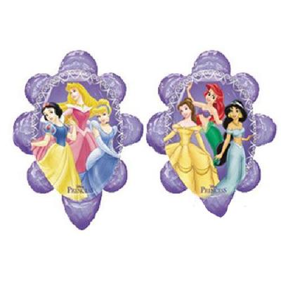 Ballon princesses Disney en aluminium