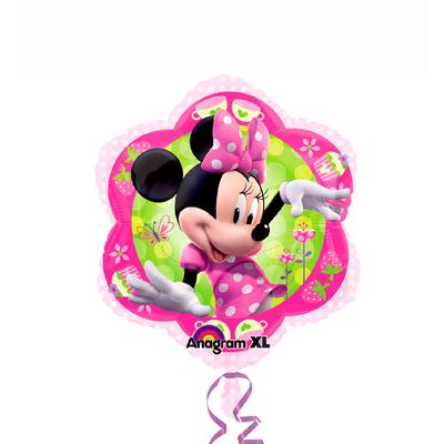 Ballon mylar Minnie rose