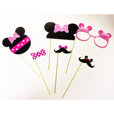pack photobooth Minnie rose