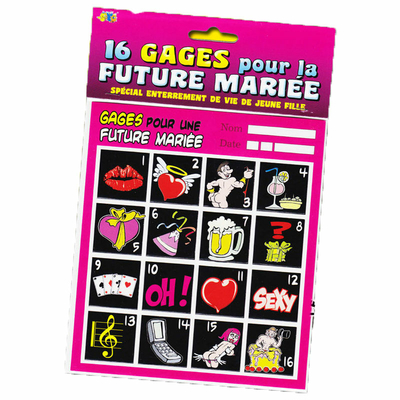 Gages future mariée
