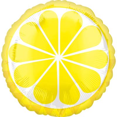 Ballon fruit citron