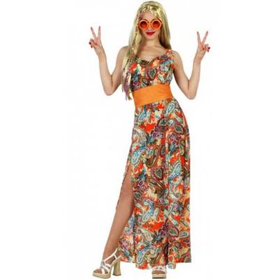 Déguisement robe longue hippie