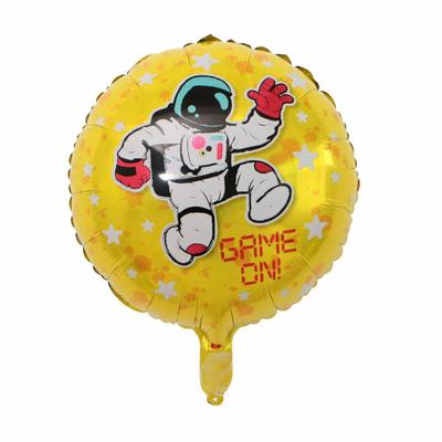 Ballon astronaute aluminium