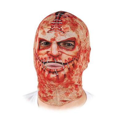 Masque Cagoule zombie avec coutures