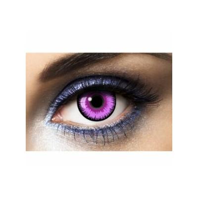 Lentilles de contact Lunatic Purple