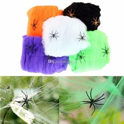 Toile d'araignée couleur