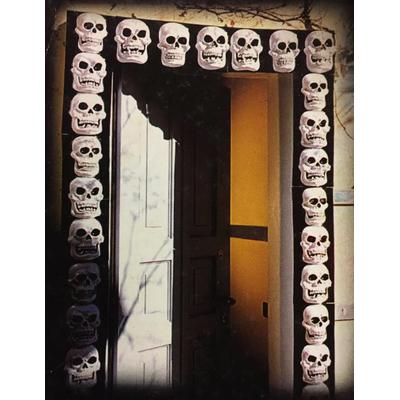 Plaques décoratives têtes de mort glow