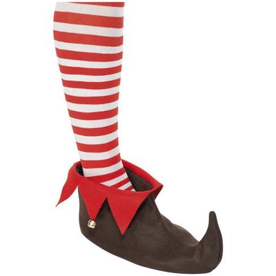 Sur chaussure de lutins ou d'elf marron