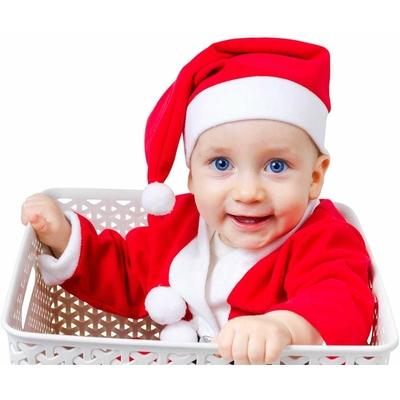 Bonnet de noel rouge pour enfant