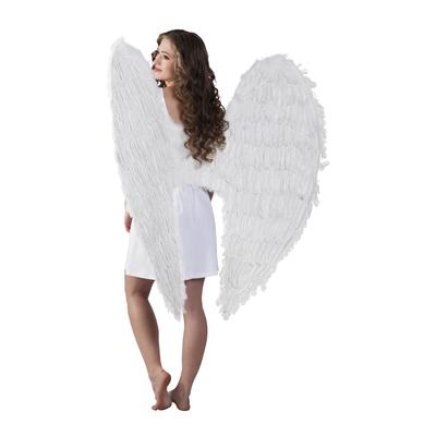 Ailes géantes en plumes blanches