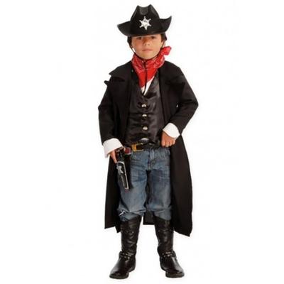 Déguisement manteau cowboy enfant