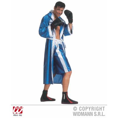 Déguisement boxer bleu