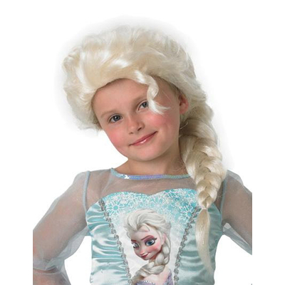 Perruque enfant Elsa  reine des neiges