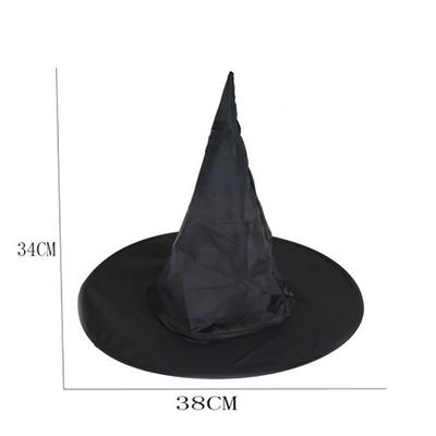 Chapeau de sorcière en non-tissé noir