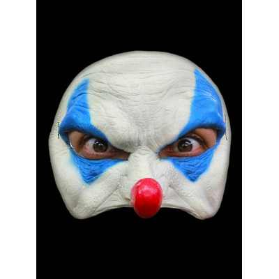 Demi masque halloween clown