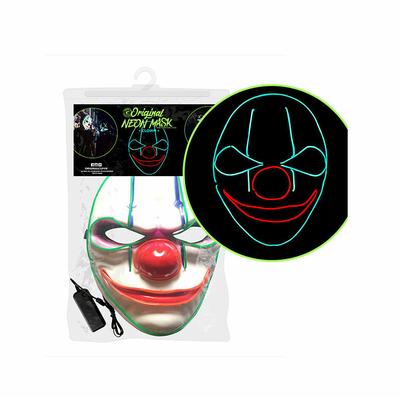 Masque clown tueur lumineux
