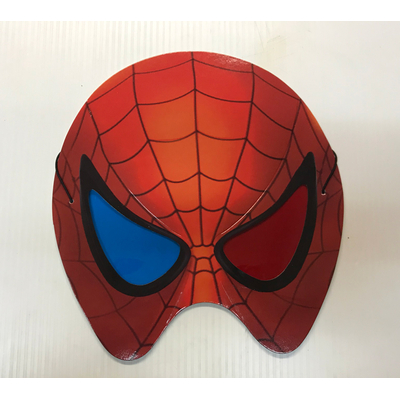 Masque de Spiderman en carton