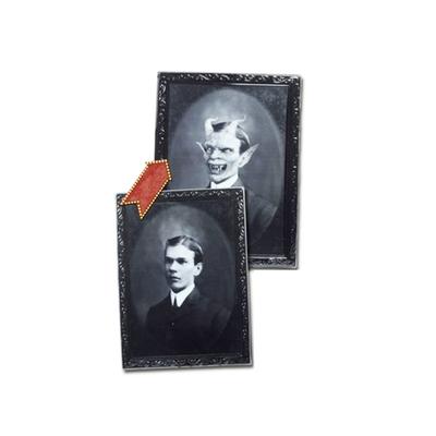 Décor mural halloween portrait lenticulaire