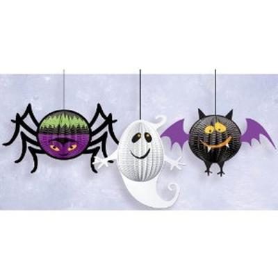 3 lampions halloween