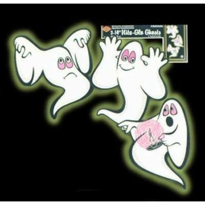 3 Décors Halloween Fantôme Glow