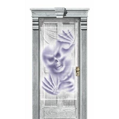 Décoration de Porte Halloween Squelette