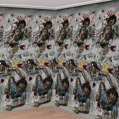 Décor Mural Zombies