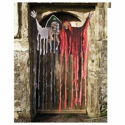 Décoration de Porte Halloween Lumineuse