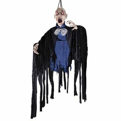 Suspension Halloween Zombie Enchainé 153 Cm