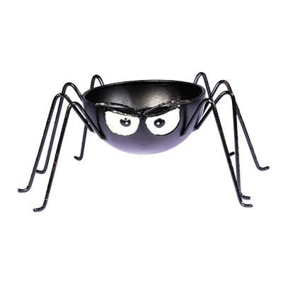 Contenant araignée en métal