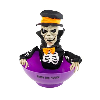 Panier halloween animé pour bonbons