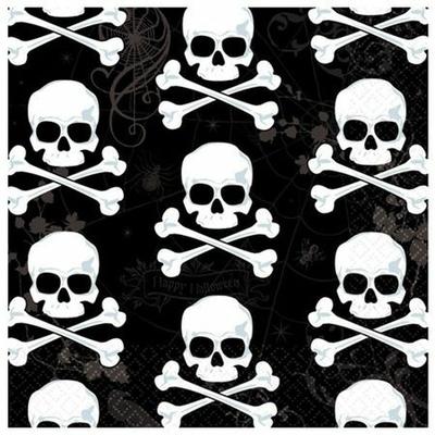 16 Serviettes Jetables Pirate