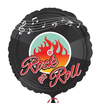 Ballon mylar thème année 50 Rock and Roll