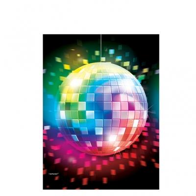 Nappe plastique thème Disco