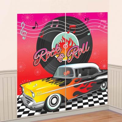 Décoration rock ' roll